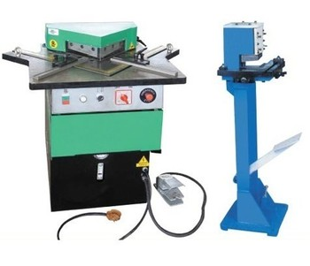 Fixed V angle hydraulic notching steel angle cutting machine for sale