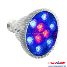 New product Full spectrum ce rohs e27 bulb led grow light for greenhouse parlight led grow light