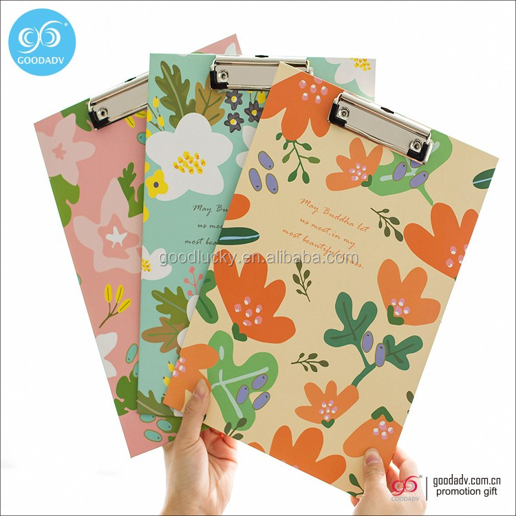 Factory wholesale new office desk file folder A4 plastic clipboard clips