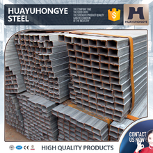 high quality production LASW gi square steel pipe