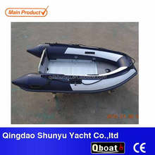 2016 CE certificate 3 persons zodiac fishing inflatable boat for sale