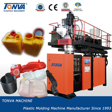 Price of plastic accumulator die head extrusion blowing machine