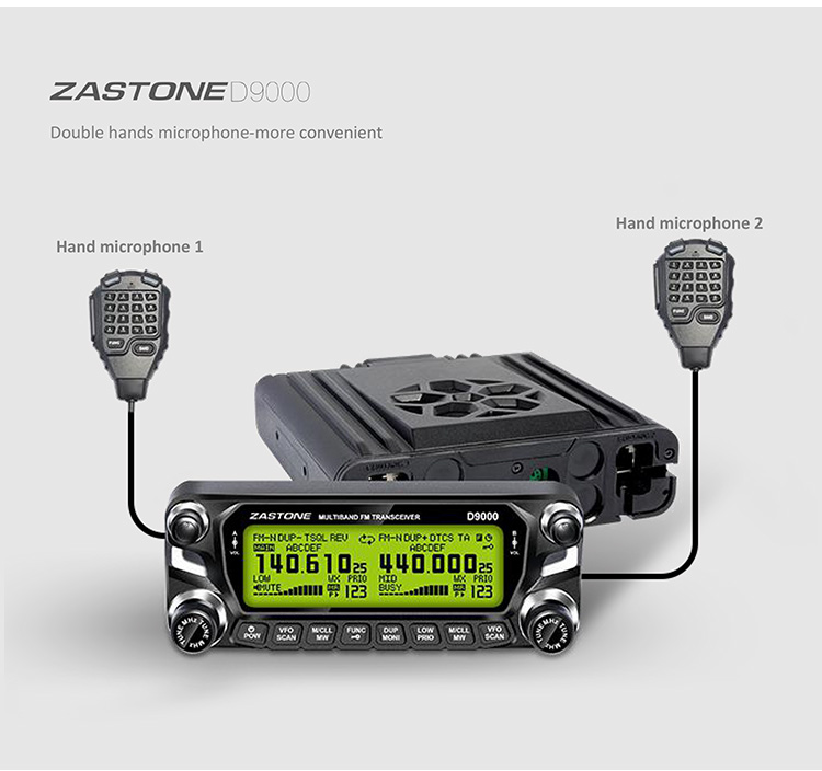 Long range mobile transceiver