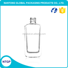 Simple design 50ml cheap price glass perfume bottle for sale