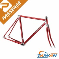Hot sale chrome welding fixed gear/city bike Taiwan bike frames
