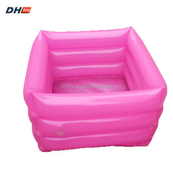 adult inflatable foot bath spa basin