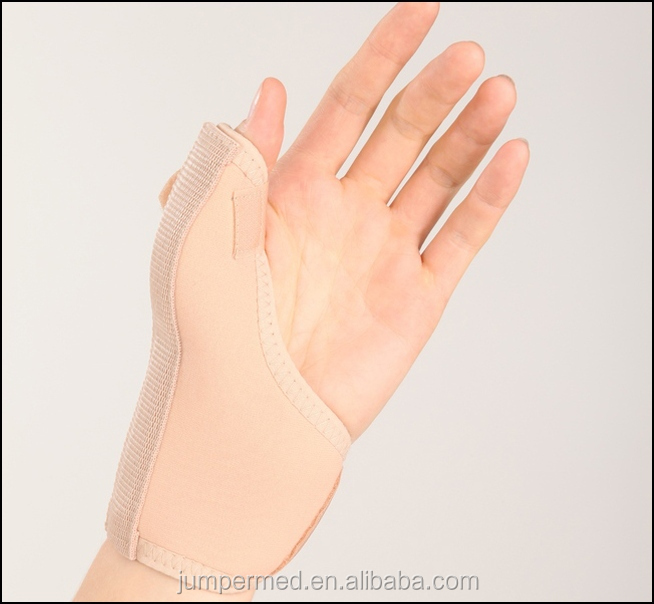 Light and comfortable Right Wrist Brace, Full Size, Beige, 1-Count Package