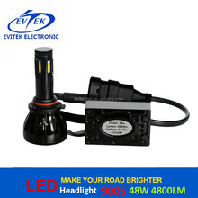 Automobiles & Motorcycles 48W 4800LM Auto Led Headlight H7 H11 9005 9006 H1 H3 for VW Polo Headlight