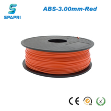 factory supply wholesale price 1.75mm new arrivals red abs 3d printer filament abs raw material