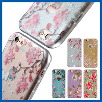 C&T The new original novelty printing soft case for apple iphone 6 plus