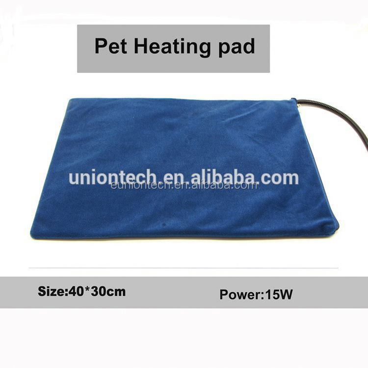 Waterproof battery heated pet mat Gel dog cool sleeping pad