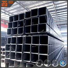 ASTM A500 grade b steel pipe, 30*30 square steel tube, construction steel tube