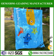 Good quality brand names custom beach towel in digital printing