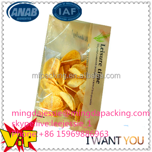 pe coated paper for potato chips bags