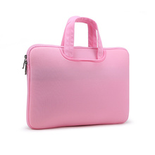 pink cheapest laptop case with handles OEM 11 13 14 15 17 inch