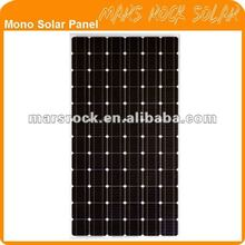 170W-200W High Efficiency Mono Crystallline Solar Panel