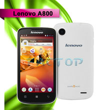 4.5inch HD capacitive 4GB GSM WCDMA mtk 6577 dual core android 4.0 LENOVO A800