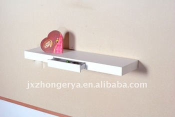 Wall floating shelf with drawer buy wall floating shelf for Etagere murale avec tiroir