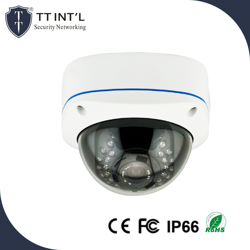 4MP Video Security Camera Motorized Lens Megapixel PoE Zoom IR Dome IP Auto Surveillance Camera
