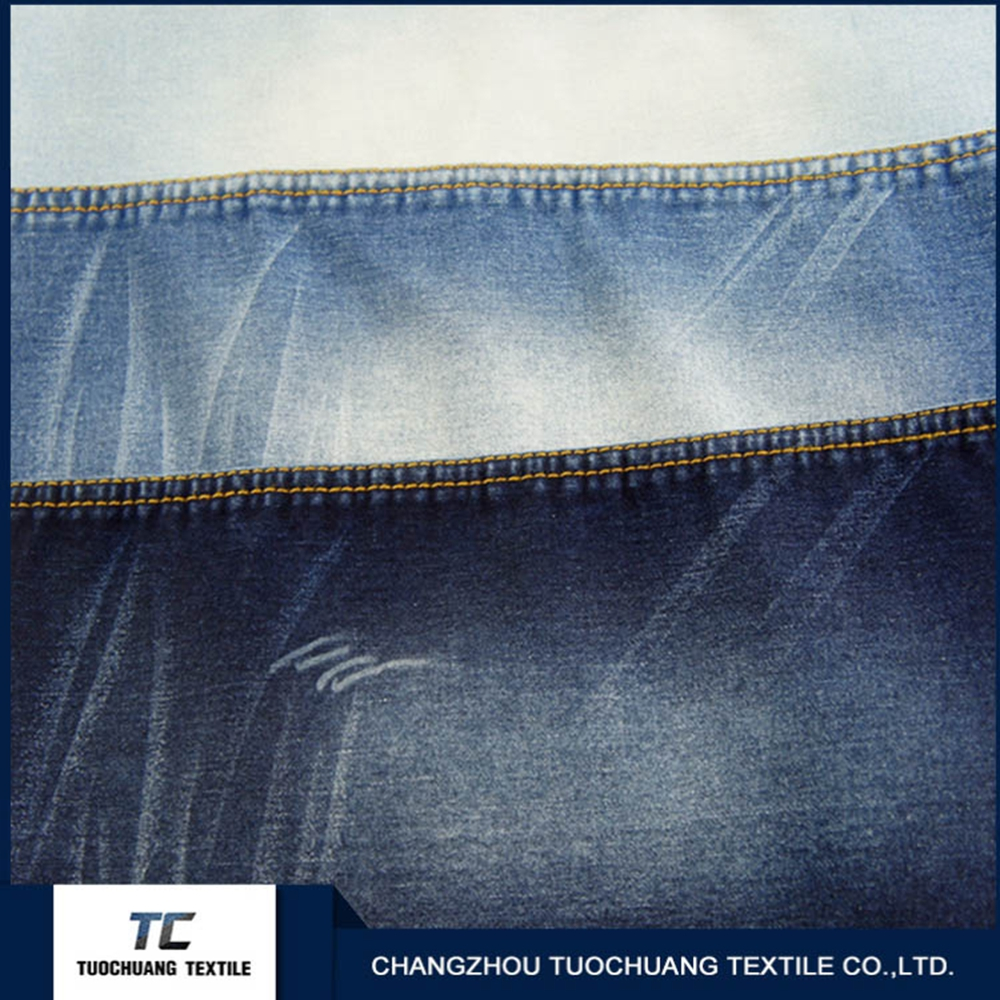 well-earned 98% Cotton 2% Spandex denim Fabric from changzhou factory