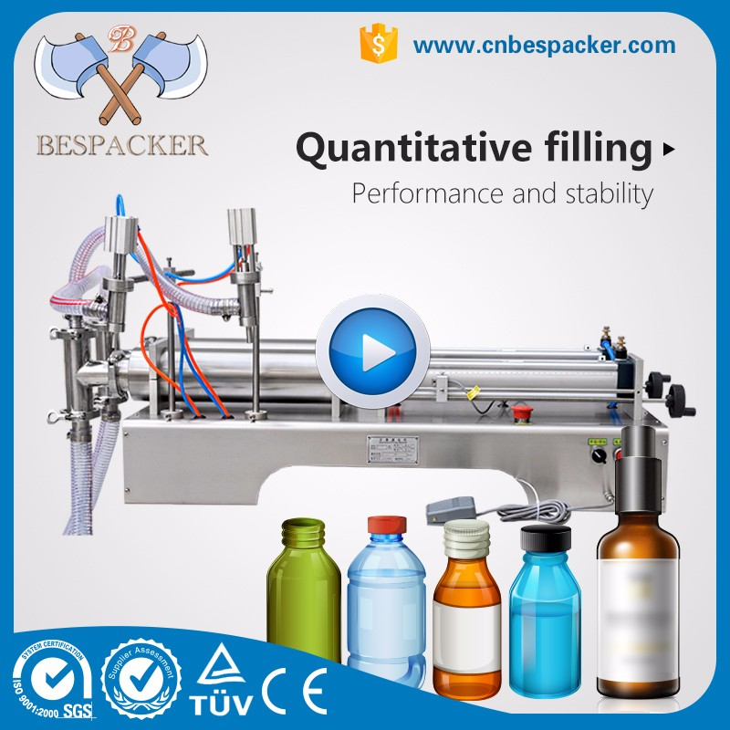 Multifunctional liquid for electronic cigarette semi automatic filling machine