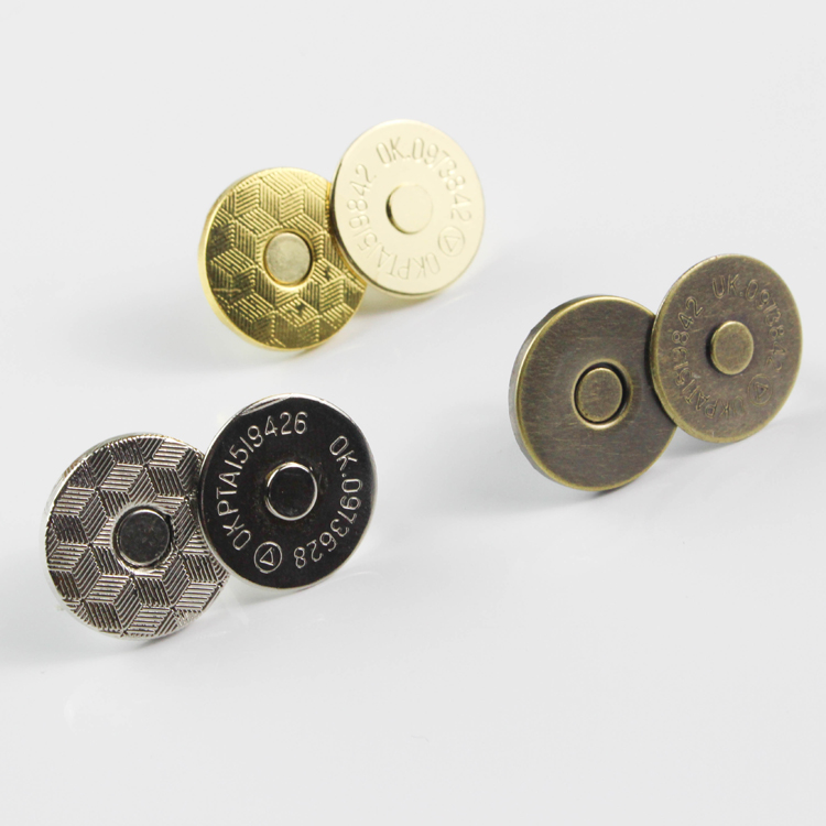 magnet button 10*2mm, 14*2mm,18*2mm magnetic button