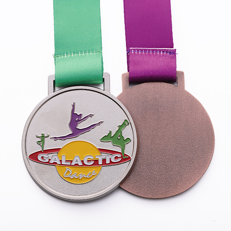 free sample promotional custom soft enamel international martial arts metal carnival dancing medal
