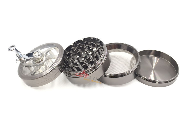 T031GZ LVHE China Online Shopping Smoking Weed 4 Layer Herb Grinder