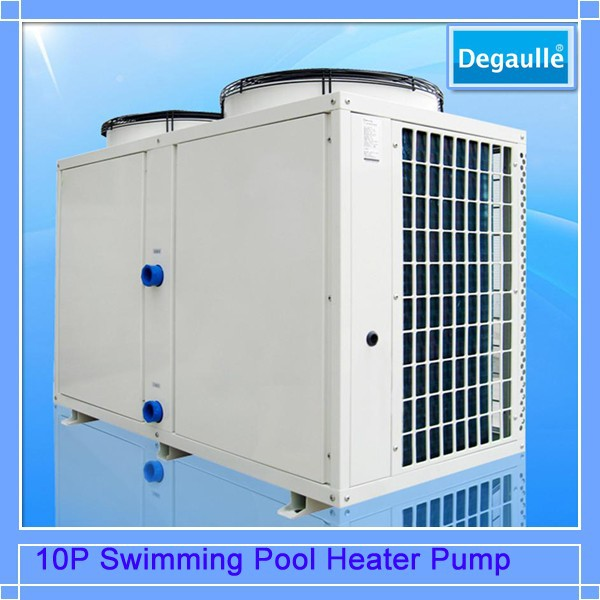 Degaulle Swimming Pool Automatic Air Source Heater Pump Machine for water heating equipment to keep warm(2p, 5p,10P, 20P)