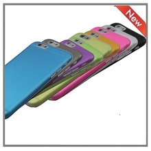 Plastic,ultra plastic Material 0.3mm ultra thin case for iphone 6