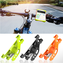 Baseus Flexible Bicycle Phone Holder For iPhone 7 6 Samsung 4-6 inch Bike Mount Mobile Phone Holder Stand Support Navigation GPS