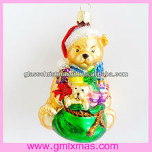 GML lovely candy and popular christmas glass ornament Supplies,Trade Assurance supplier