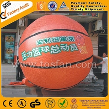 High quality 3m diameter inflatable helium basketball model F2043
