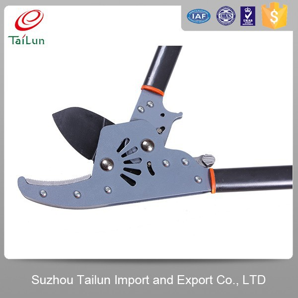 Pruner Of Cutting High Tree With PTFE Coated Blade