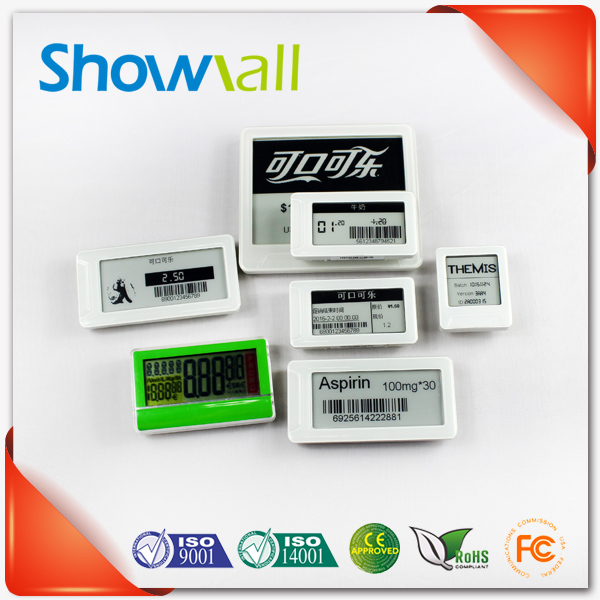 Wireless esl waterproof rfid electronic price label for supermarket