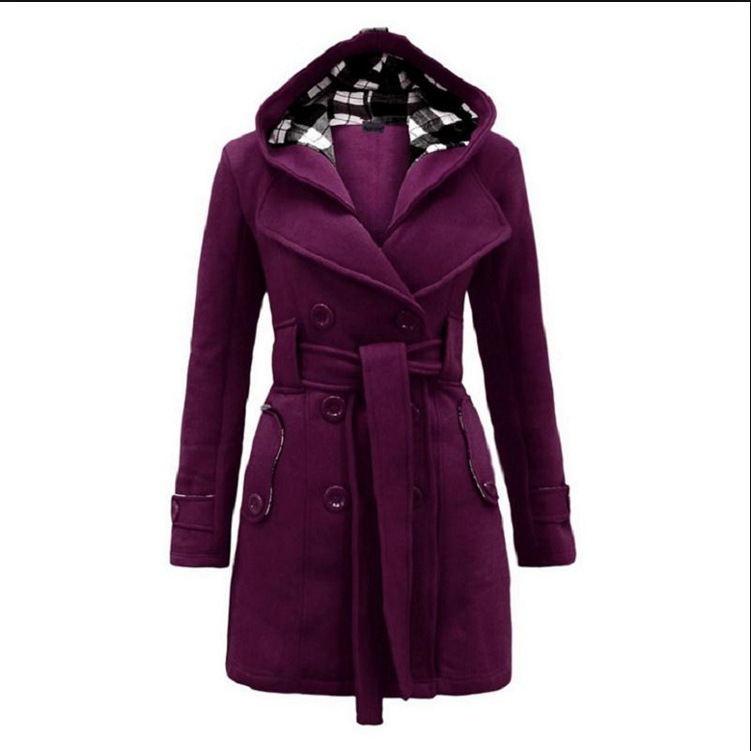 ZH1399C Wholesale Women Clothes Coats and Jackets Woman Long Winter Coats 2016