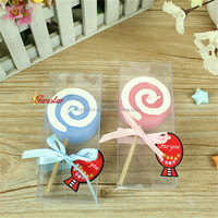 lollipop candle with toothpick