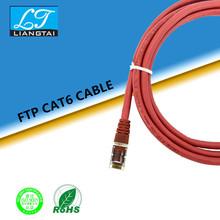 Factory direct supply high quality network cable Cat6 FTP PATCH CORD