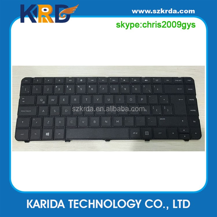 Genuine New laptop keyboard For HP G4 G4-1000 G6 G6-1000 CQ43 Spanish keyboard