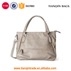 Hot-selling New Design Popular Simple Classic PU Leather Tote Bag Handbag for Ladies' Weekend Shopping