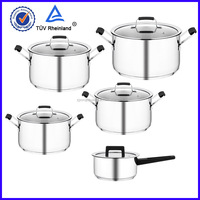 stainless steel bright thomas enamel cookware factory