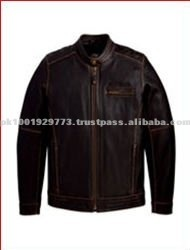 Pakistan New Design Fashion Style Man Leather Jacket