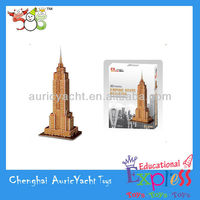 3d puzzles for adults,puzzle for the empire state building ZH0904914