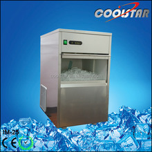 25kg hot sale Protable automatic AISI 304 bullet ice maker machine