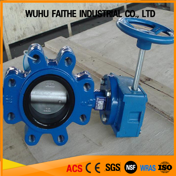 All type of Cast iron butterfly valve lowest cost