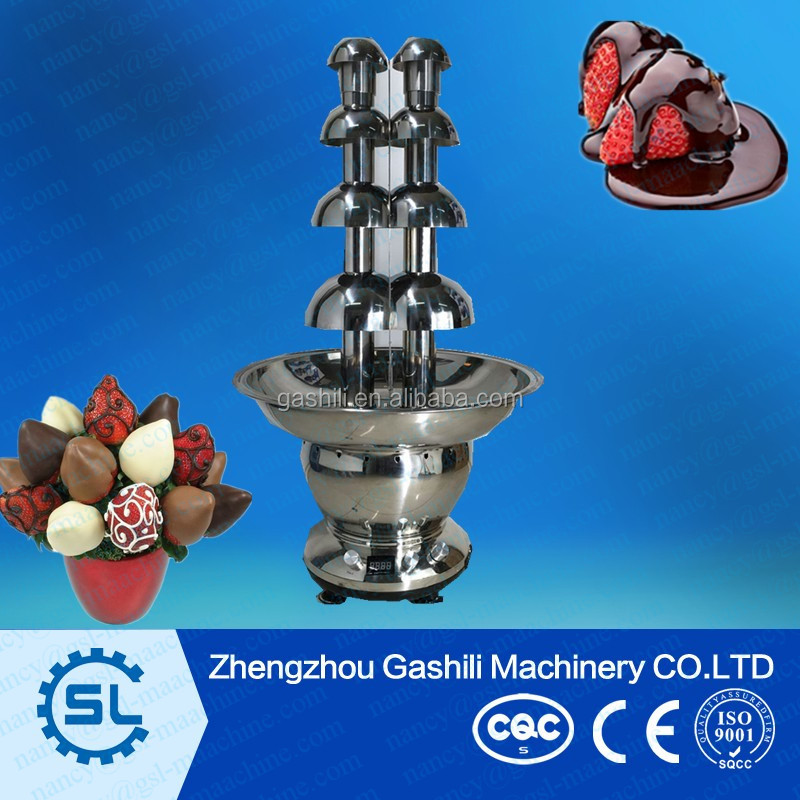 newly design chocolate melting pot chocolate fondue fountain