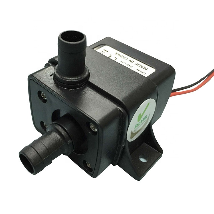 Low noise 240L/H 300cm 400mA 12v DC brushless hot water circulation <strong>pump</strong> of home appliance