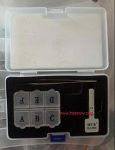 locksmith supplies-HU92 Key model, ajust into a new key, and then use key cutting machine to cut