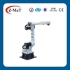 China six turning joint robot work with cnc machine