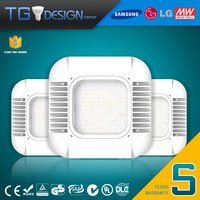 UL/cUL DLC/TUV/SAA Approved 130w LED Canopy Light/Commercial Retrofit LED Area Lighting Fixtures